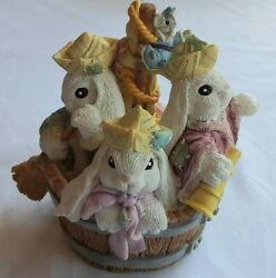 Off To See The World Figurine - The Patchville Bunnies Collection - 01030