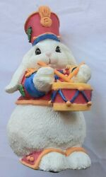 The Little Drummer Bunny - The Patchville Bunnies Collection - 01059