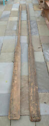 Pair Large Wooden Life Boat Oars - Ship Ms Panama Maru 14 Foot Long Pick Up Only