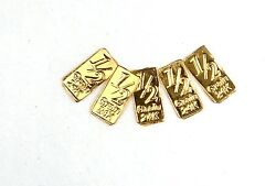 Gold Bullion Times 5 Pure 24k Gold Bars Bb1 Ships Free If You Buy 2 Or More