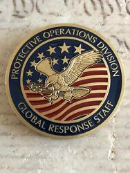 Cia Global Response Staff Grs Protective Ops Division Call Sign Challenge Coin