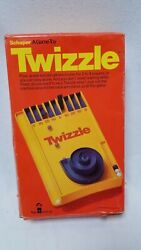 Vintage Twizzle Marble Game-bowling-pinball By Schaper W Box + Extra Marble