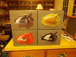 2018 And 2019 Harley Davidson Hog Gas Tank Piggy Banks Mint In Boxes 4