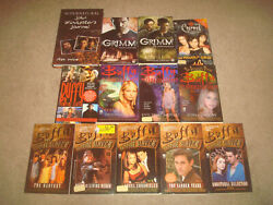 Tv Show Tie-in Book Lot Grimm Supernatural Charmed Buffy The Vampire Slayer Set