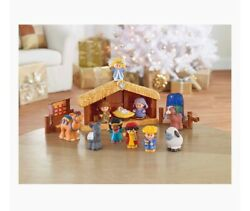 Fisher Little People T2542 Childrens Nativity Christmas Set New Unopened Box