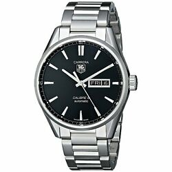 Tag Heuer Men's War201a.ba0723 'carrera' Automatic Stainless Steel Watch