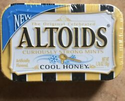 Altoids Cool Honey Mints 1 Sealed Collectors Tin Discontinuedrare Ships Free