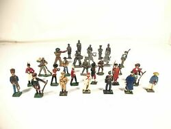 Lead Tin Toy Soldier Lot