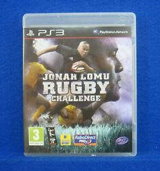 Ps3 Jonah Lomu Rugby Challenge Game Region Free Works On Ntsc Consoles Pal Uk