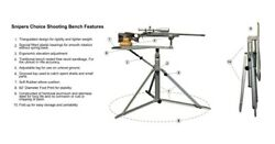 Sniperschoice Shooting Bench- The Best - Fully Functional Bench Is Here
