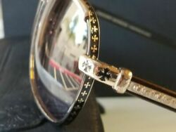 😎.NEW Chrome Hearts Boneyard 1 ● 24kCOPPER BERYLLIUM Ultra Rare Sunglasses