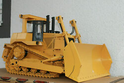 Scale Rc Remote Control Hydraulic Bulldozer Collectible Model Toy Gift 1/14