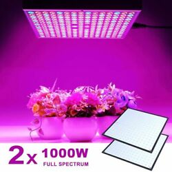 Full Spectrum 1000w Indoor Led Plant Grow Lamp Panel 225 Pcs For Hydroponic