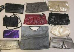 Lot of 11 Assorted Style amp; Co. Purses Clutches and Wallets Gold Silver Black $39.99