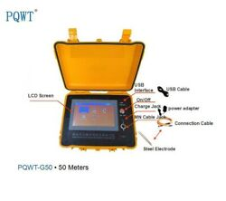 Pqwt-g50 Multifunction Auto Water Leak Detection For 50m Levee Pipeline