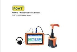 Pqwt L-2000 For 3 M Underground Pipe Water Leak Detector Newest Model Fast Ship