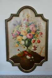 Maffei Alessandro Flowers Oil Painting On Canvas