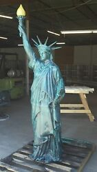 Cast Aluminum Statue Of Liberty With Flame Globe Usa More Available