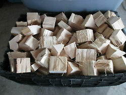 Seasoned Hickory Wood Chunks For Grilling Smoking Barbecue Competition Size
