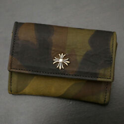Chrome Hearts [unused goods] WALLET TINY  Tiny Wallet  CH plus  card c (900