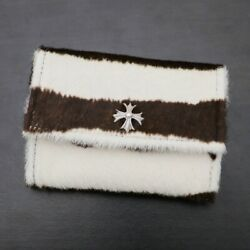 Chrome Hearts [unused goods] WALLET TINY  Tiny Wallet  CH plus  card c (903