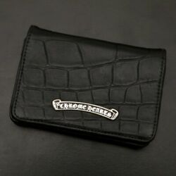 Chrome Hearts [unused goods] [alligator] business card holder  card case (1284