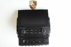 Porsche 95b Macan Touchpad Gps Control Panel Navigation System Europe -3