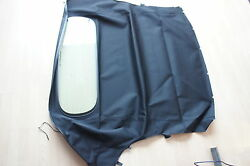Porsche 987 Boxster Hood Covering Roof 98756190302 Np Black