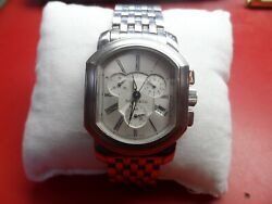 And Co. Mark Coupe Chronograph And Date Stainless Steel Men's Watch