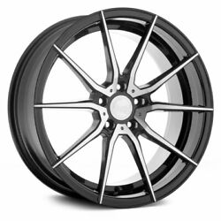 20 Avant Garde M652 Machined 20x8.5 20x10 Wheels Rims Fits Ford Mustang Gt