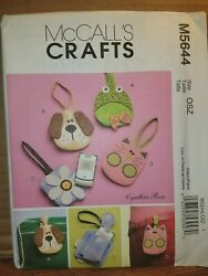 Patterns McCall#x27;s # M5644 Bags Handbags Totes Open Uncut With Instructions $5.99