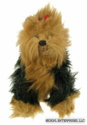 TY YORKIE Classic 1990 Beanie Yorkshire Terrier Large Dog wo Tag VERY RARE