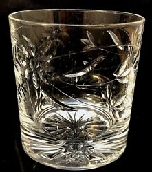 Royal Doulton Crystal Jasmine Rummer Double Old Fashioned Whiskey Rocks Glass