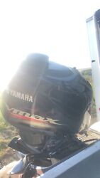 Yamaha 200 225 250 Sho Outboard Top Cowl Assembly Damaged See Pics