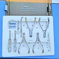 Storz Surgical Maxillofacial Instrument Set With Case