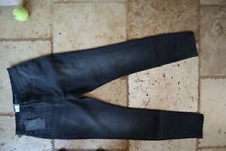 Nwt Faded Black Rock And Republic High Waist Legging Stretch High Roller Jeans 10