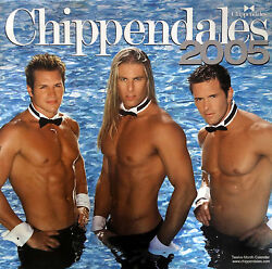 Sealed New Chippendales Calendar 2005 Rare Charles Dera Kevin Cornell