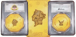 1.5 Grams Of Gold Rush Nuggets Recovered From The 1857 S.s C.a. Shipwreck