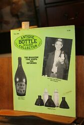 Antique Bottle And Glass Collector Magazine May 1993