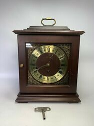 Vintage Welby Elgin Westminster Chime Mantel Clock Made In Germany ..for Parts