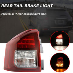 Left Driver Side Fit Jeep Compass 2014-2017 Rear Tail Stop Brake Light Fog Lamp