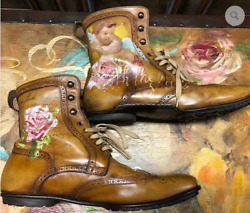 Stefano Branchini Art Work by Vladimir Muhin Size 44 US 11 Made in Italy