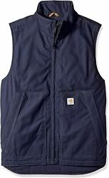 Men's Big And Tall Big And Tall Flame Resistant Quick Duck Vest