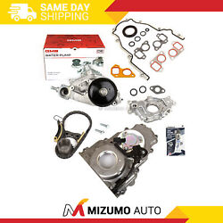 Timing Chain Kit Timing Cover Oil Pump Water Pump 07-14 Chevrolet Gm 5.3 6.0 6.2