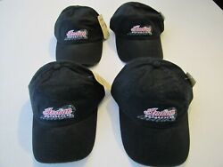 4 Indian Motorcycle Ball Cap Low Profile Hat - Bundle Of 4 Hats Total