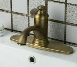Bathroom Mixer Tap Faucet Waterfall Basin Sink Vintage Style Deck Mount Faucets