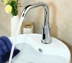 Touch Free Faucets Water Mixer Tap Sensor Stream Washbasin Bathroom Sinks Faucet