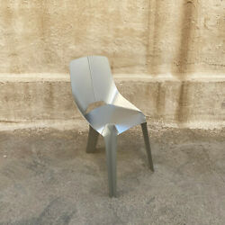 Nature Of Material Limited Edition Anodized Aluminum Chair Silver