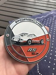 Porsche 911 Carrera 2.7 Rs Grill Badge Official Factory 356 Limited Wow Vw Bug