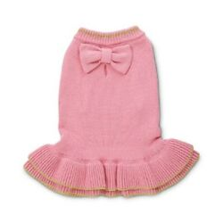 Petco Bond and Co Basic Pink Sweater Dress for Dog
